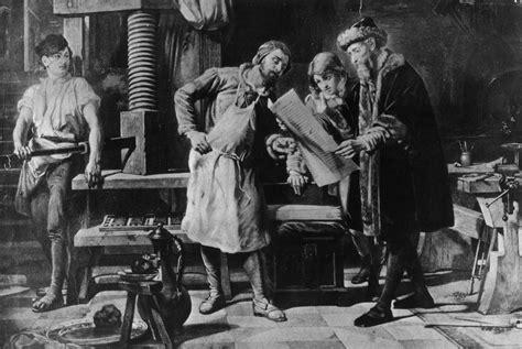 wann hat gutenberg den buchdruck erfunden franziska kelch autor bei lernplattform