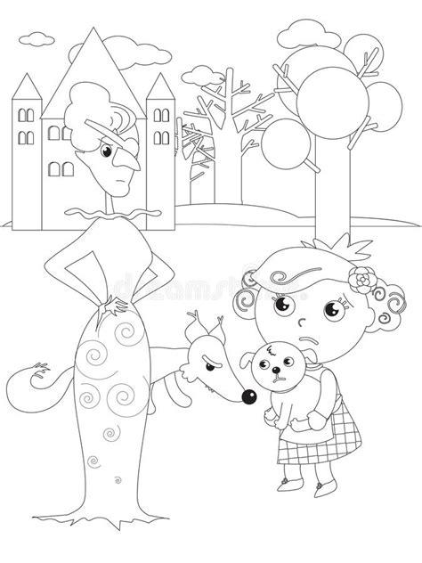 Ajuda Dorothy Do Jogo Do Labirinto Da Coloração De Mágico