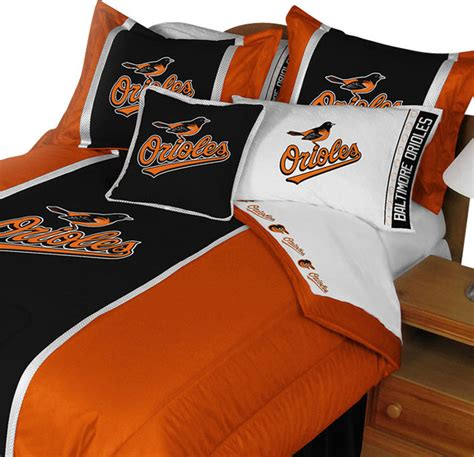 Orioles Bedroom Decor by Mlb Baltimore Orioles Bedding Set Baseball Comforter