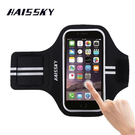 aliexpress buy haissky sport running armband for iphone x xs max 8 7 plus 6 6s xiaomi