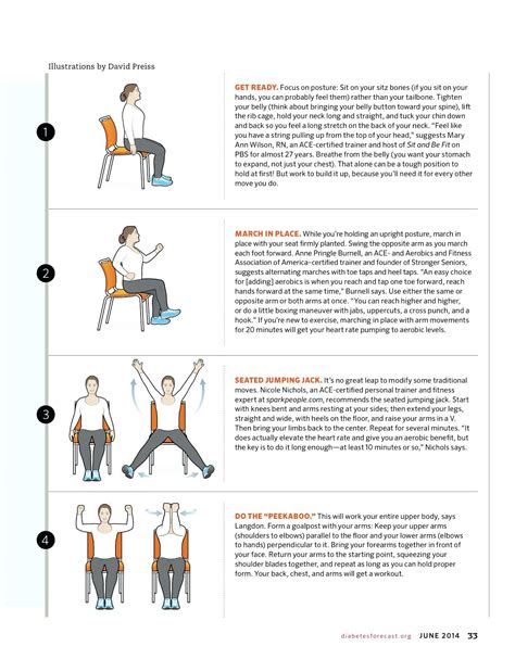 printable exercise program for seniors senior chair exercises chairs seating