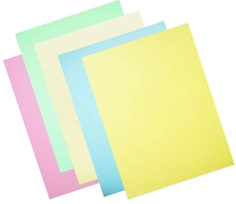 What To Make With Coloured Paper - a4 pastel coloured paper 50 sheets paper card paper