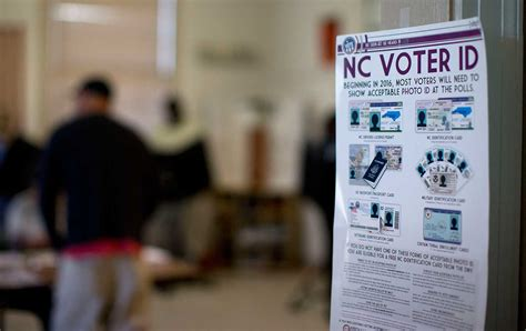 Nc Voting Records The Country S Worst Anti Voting Was Just Struck In Carolina The Nation