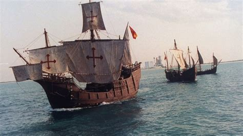 three boats christopher columbus sailed christopher columbus videos at abc news video archive at