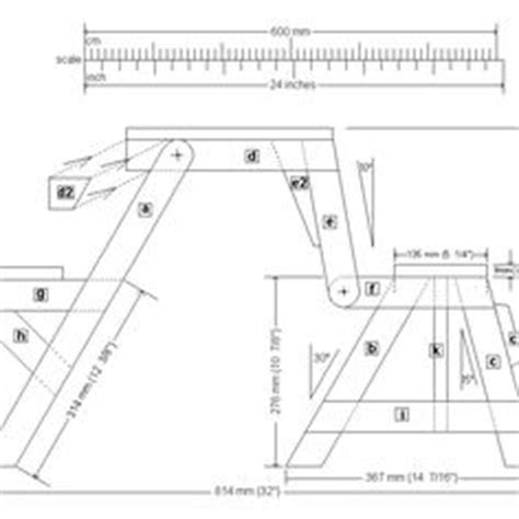 folding picnic table bench plans free 1000 images about folding picnic tables on pinterest