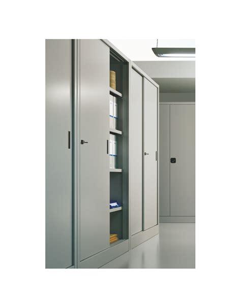 armadio metallico ante scorrevoli armadio metallico ad ante scorrevoli cm 120x45x200h