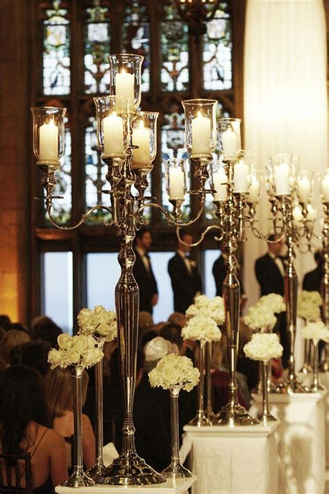 Wedding Aisle Candle Holders by Ceremony D 233 Cor Photos Candelabra Aisle Markers Inside