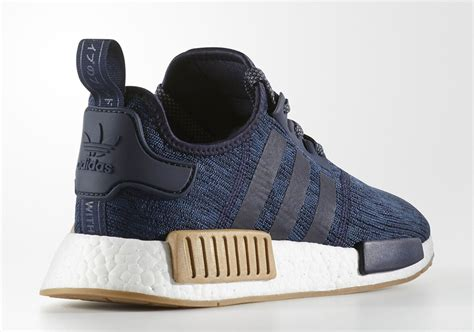 Sepatu Adidas Nmd R 1 Clear Blue Premium Quality there s an nmd r1 on its way with quot gum quot midsole bumpers