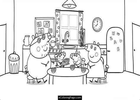 peppa pig thanksgiving coloring pages pig pictures to color az coloring pages