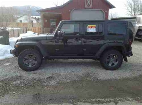 jeep wrangler unlimited call of duty for sale purchase used 2011 jeep wrangler unlimited call of duty in