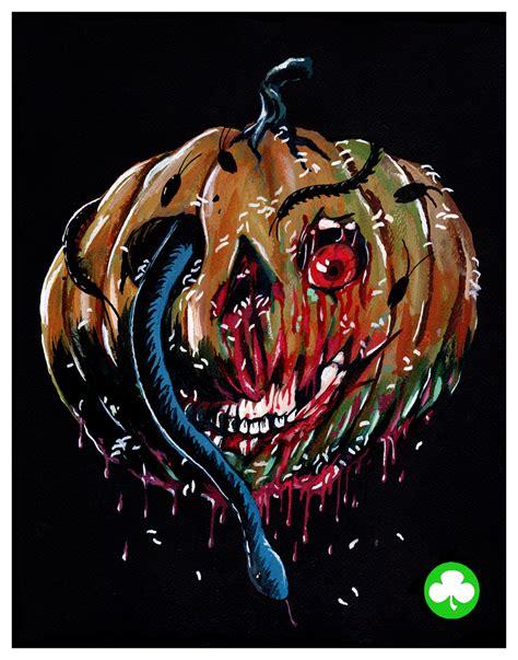 iii pumpkin mask iii season of the witch silver shamrock mask