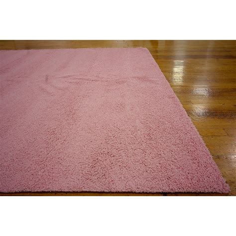Unique Loom Solo Light Pink Area Rug Reviews Wayfair Pink Area Rugs