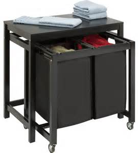 Commercial Laundry Folding Table Laundry Sorters And Rolling Hers Organize It