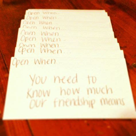 Gift Letter To A Friend Best 25 Open When Letters For Best Friend Ideas Ideas On Best Friend Letters Best