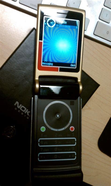 check  prototype    nokia star trek phone