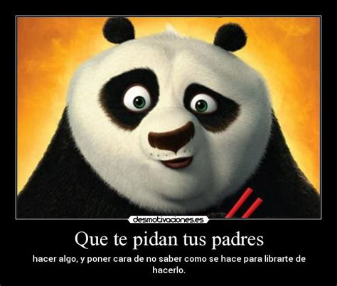imagenes de kung fu panda bebe con frases te desmotivo un rato taringa