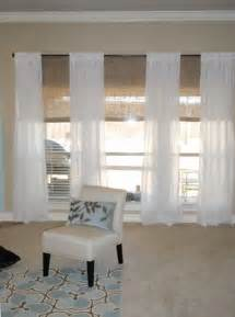 Panel Blinds Ikea 17 Best Ideas About Large Window Curtains On Pinterest