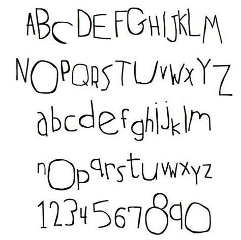 child handwriting fonts kids handwriting font