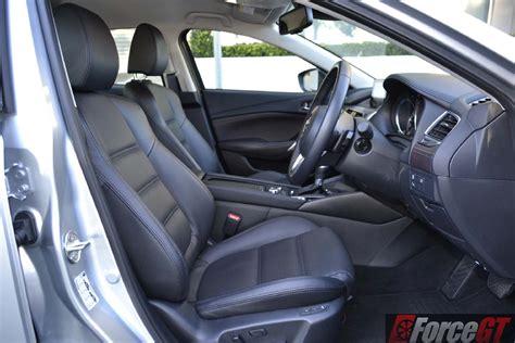 mazda 6 car seat leather mazda6 review 2016 mazda6 touring petrol sedan
