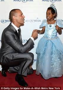 nigel barker kisses the hand of a very special princess as