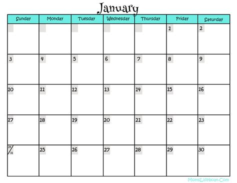 printable monthly 2016 year calendar 2016 calendar free printable