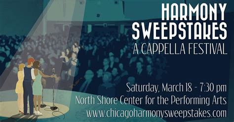 Chicago Sweepstakes - chicago harmony sweepstakes march 24 2018 naperville illinois
