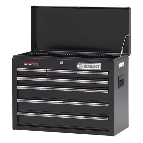 kobalt 7 drawer tool chest shop kobalt 22 5 in x 14 688 in 7 drawer ball bearing