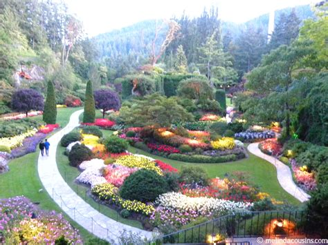 butchart gardens thinking out loud