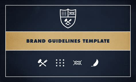 brand guidelines template pdf brand guidelines template by go media