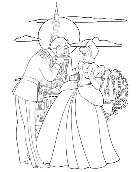 interactive princess coloring pages princess and prince image to print to print or