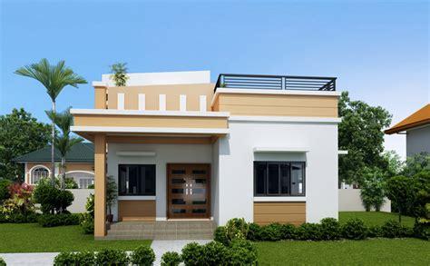 one storey modern house plans