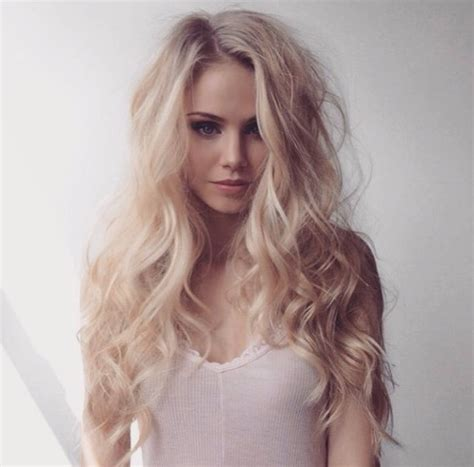 Scandinavian Colors by Blonde Curly Hair Pink Pretty Image 3906972 By