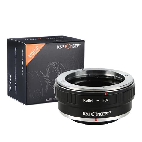 Diskon Lens Adapter Rollei Qbm Lens To Fuji Fx Mount Rollei Fx Rollei Qbm Lenses To Fuji X Mount Adapter