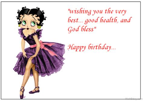 Happy Birthday Wishes For A Dancer 32 Birthday Wishes Betty Boop