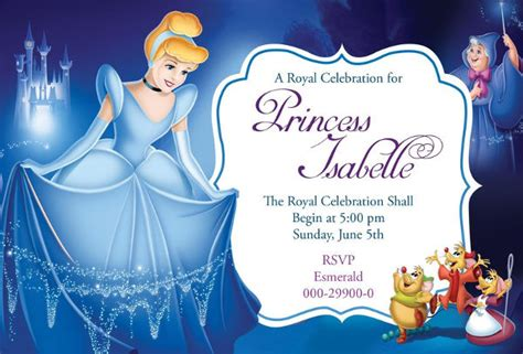 11 disney invitation templates free sle exle