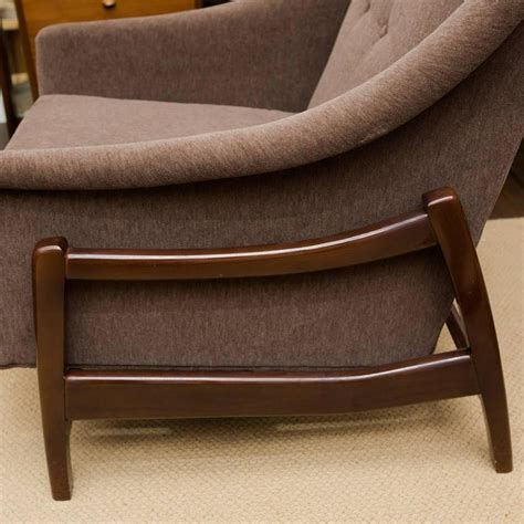 Rocking Lounge Chair by Vintage Paoli Rocking Lounge Chair At 1stdibs