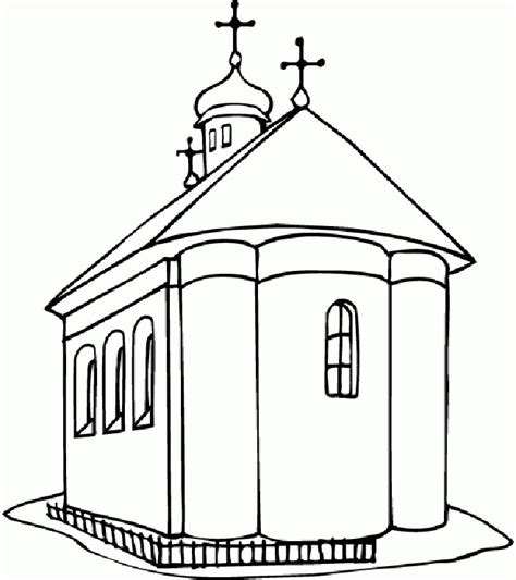 church house coloring pages church color pages coloring home