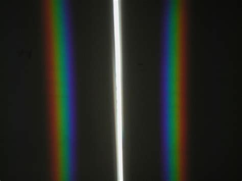 diffraction grating pattern white light diffraction the wonders of physics uw madison