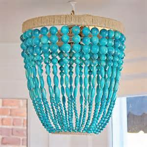 turquoise beaded chandelier ro sham beaux malibu turquoise beaded chandelier beaded