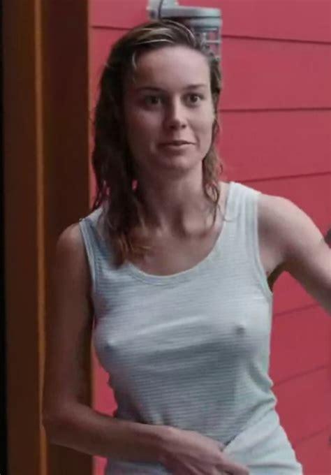 Brie Larson Pokies And Sexy Wet Hair Celeblr