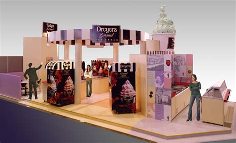 design booth ice cream k 220 ngdesign imagination made interactive dreyer s grand