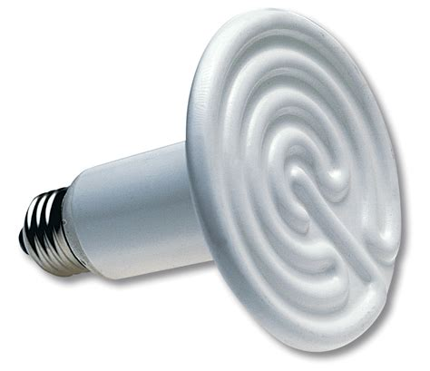 Heat L Light Bulb by Repticare 174 Ceramic Infrared Heat Emitter 187 Zoo Med Europe