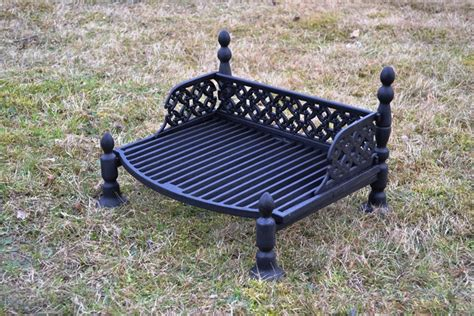 outdoor pit grates 51 x 40 cm bbq barbecue grate grill cast iron outdoor