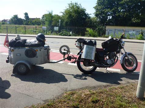 Motorrad Und Anh Nger by Motorradanh 228 Nger Geht Das 252 Berhaupt Motorrad Tour