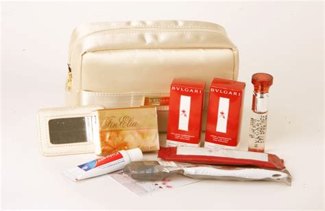 emirates business class amenity kit flying high a peek into the perks of first class and
