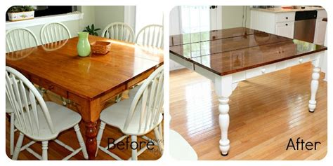 kitchen table redo for the home