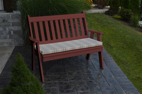traditional garden bench 5 traditional english garden bench 187 amish woodwork