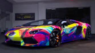 lamborghini aventador car features every color of the