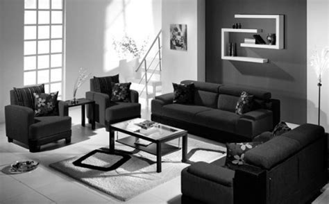 living room modern black and white living room designs