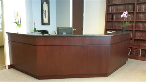 Mahogany Reception Desk Cabinet Maker Philadelphia Mahogany Reception Desk